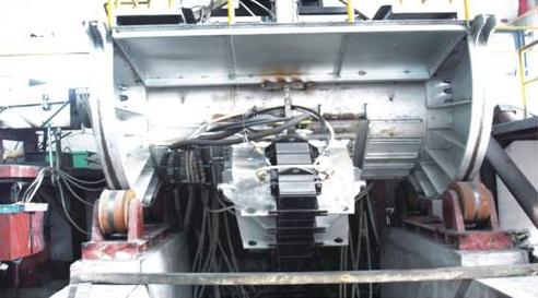 Coreless induction furnace